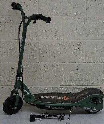 Razor RX200 Electric Scooter Green RRP 299.99 lot B2318 5055308526573