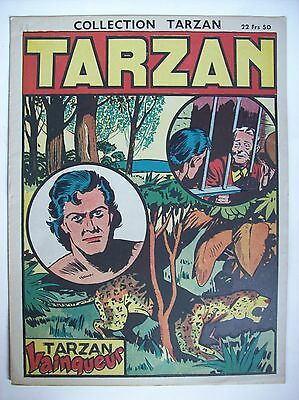 collection Tarzan N°24 1947 récit complet éditions mondiales TBE