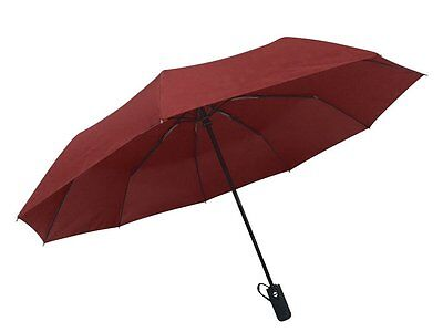 Rain-Mate Travel Umbrella - Windproof, Reinforced Canopy, Ergonomic Handle, Auto