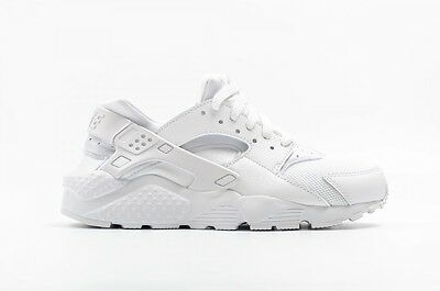 SCARPE DONNA/JUNIOR SNEAKERS NIKE HUARACHE RUN (GS) bianco sportive unisex