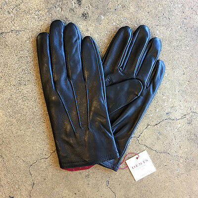New Dents Full Grain Leather Gloves - Black