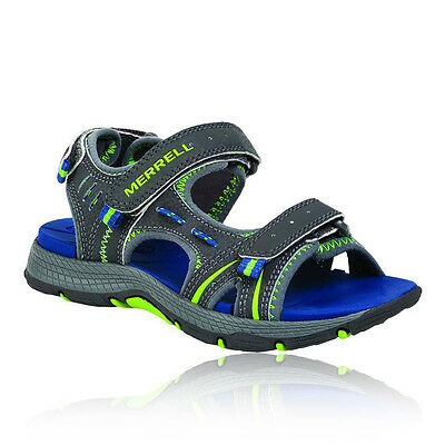 Merrell Panther Junior Grey Outdoor Road Walking Hiking Strap Sports Sandals
