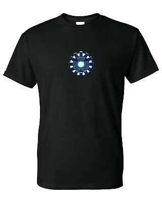 BRAND NEW - Iron Man Arc Reactor Stark Industries T-Shirt (S-5XL) Ready to ship!