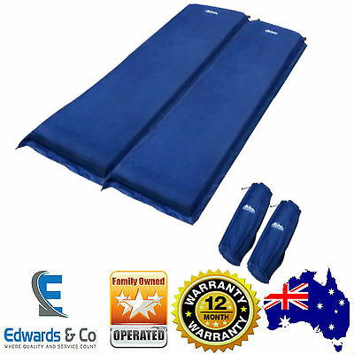 Self Inflating Mattress Air Camping Sleeping Single Double Bed Blow Up Hiking