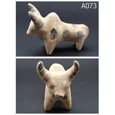 Ancient Teracotta Painted Bull Indus Valley 2000 BC #A73