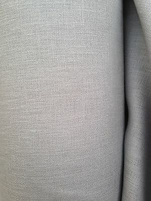 Quality Grey 100% Irish Linen 5m 150cm Wide Material For Suits