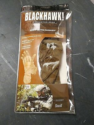 Blackhawk Fury Gloves W/Nomex 8093SMCT SMALL Tan Tactical