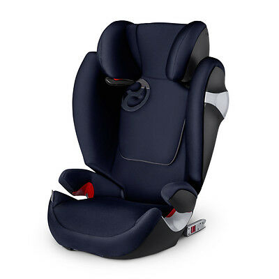 Cybex Solution M-FIX Kindersitz Autositz Midnight Blue GRUPPE II/III 15-36 kg