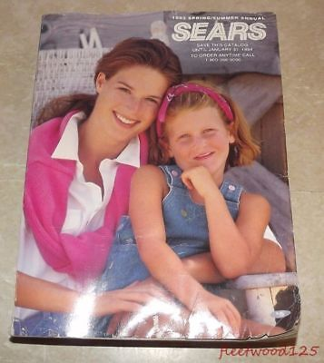 Vintage Sears 1993 Spring Summer Annual Catalog / Home Decor Clothes Electronics