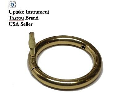 "Bull Ring 3.00""-1/4 Copper Brass, Polished Veterinary instrument"