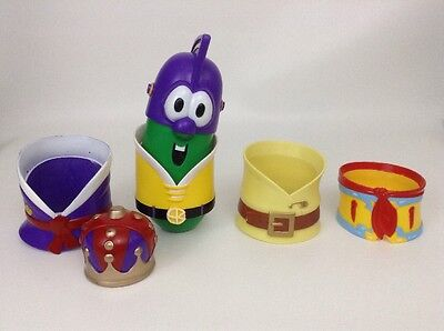Fisher Price Veggie Tales Dress Mix Up Larry the Cucumber Mr Potato Head Type
