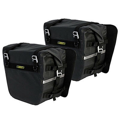 Nelson Rigg Deluxe Adventure Dry Saddlebags Waterproof SE-3050-Black