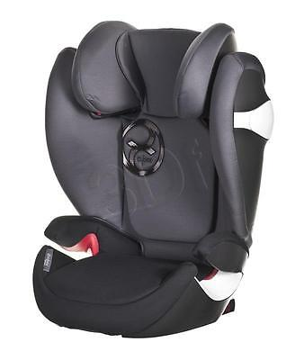 Cybex Solution M-FIX Kindersitz Autositz Graphite Black GRUPPE II/III 15-36 kg