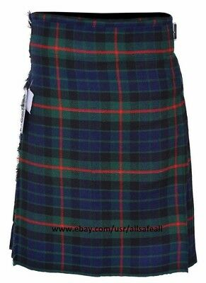 GUNN Tartan Men's 5 Yard 13oz Casual Wear, Light Weight, Scottish Tartan Kilt