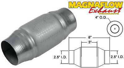 "2.5"" 63mm Centre 200 Cellule Universel Magnaflow Métallique Catalyseur Sport"