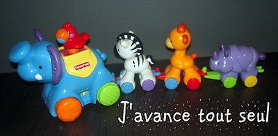 Fisher Price Parade Des Animaux A Roues