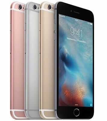 Apple iPhone 6s 16GB 32GB 64GB 128G AT&T 4G LTE Smartphone Silver Gold Gray Rose