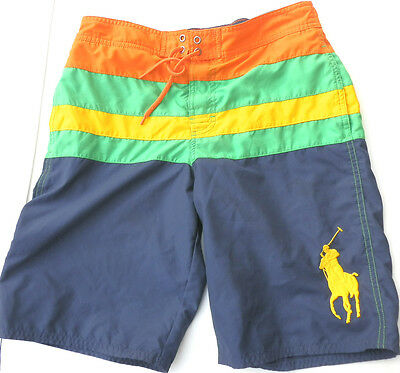 Polo Ralph Lauren Boys Swim Trunks Shorts Sz L 14-16