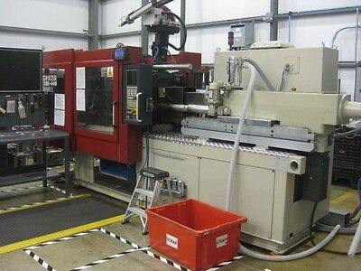 Negri Bossi VE120-440 All Electric Used Injection Molding Machine, 132T, #6884