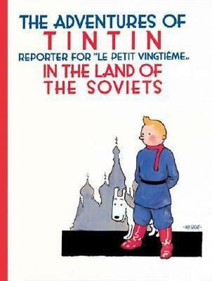 NEW Tintin in the Land of the Soviets By Hergé Paperback Free Shipping