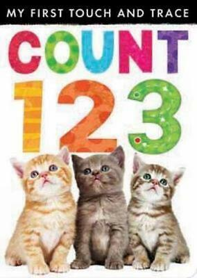 NEW My First Touch and Trace: Count 123 By Little Tiger Press Board Book