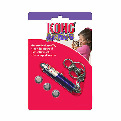 KONG Cat Laser Toy Interactive Light Beam Chase Toy for Cats