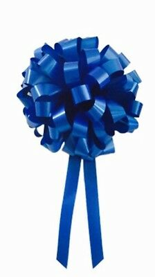 35cm Large Gift Bow, Royal Blue, Peel & Stick, Occasion, Business, Events, Cars