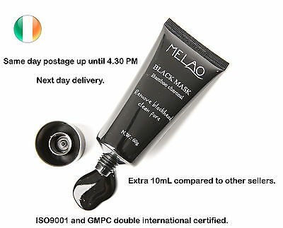 Black Face Mask Blackhead Remover Peel-Off Purifying Cleansing Charcoal Mask