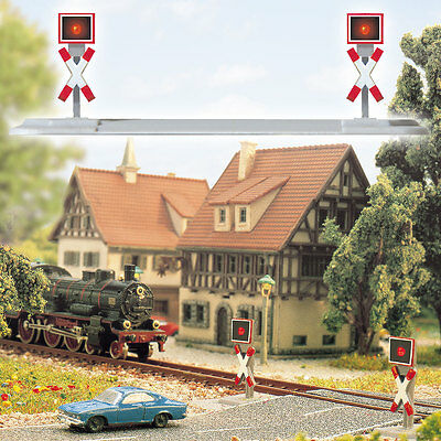 Busch Z Gauge 5954 Hazard Warning Lights # NEW ORIGINAL PACKAGING #