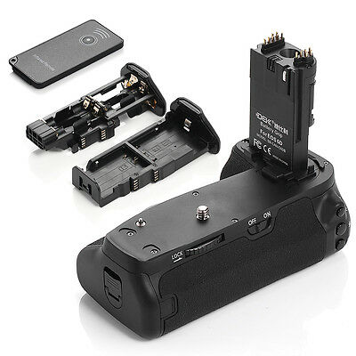 Vertical BG-E13 Battery Grip For Canon EOS 6D LP-E6 DSLR Camera with IR Remote