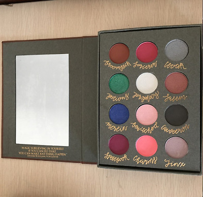 Eyeshadow cosmetics Harry Potter Magic Book 12Color Eye Shadow Palette Brand New