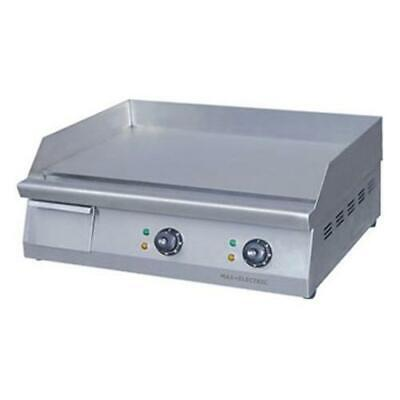 Electric Griddle / Hotplate w/ Double Control, 610mm Wide, ElectMax