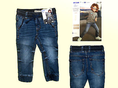 Kid's Pants Toddler Jeans Children M.Elastic Waistband Size 74-86 New
