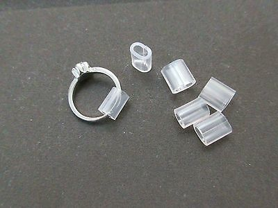 Ring Guard Snuggies PVC Ring Size Adjuster pack of 6 Assorted Sizes