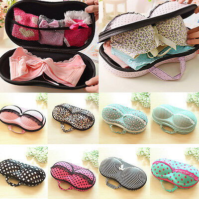 Portable Underwear Bag Box Travel Protect Bra Storage Organizer Container