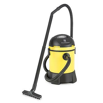 Pond Vacuum Cleaner Wet Dry Vac Garden Aquarium 1400 W 30 L Acessories Yellow
