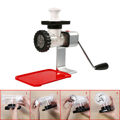 Meat Grinder Sausage Stuffer Mincer Pasta Maker Manual Operated Heavy-duty