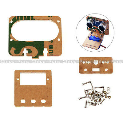 DIY Car Mounting Bracket with Screw for Ultrasonic Ranging Module Analog Servo