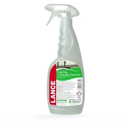 Clover Lance Limescale Remover (6x750ml) Descaler, Cleaning