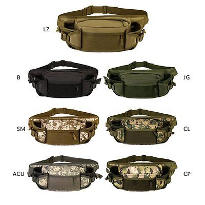 Tactical Military Camping Hiking Outdoor Fanny Pack Utility Waist Pack Pouch Bag