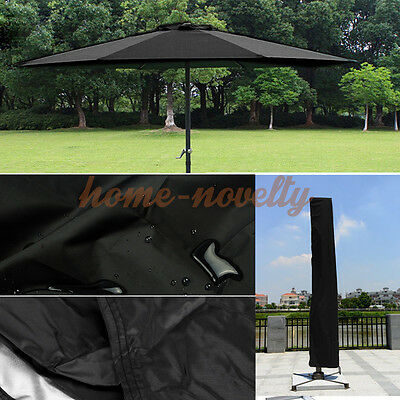 Heavy Duty 6.5FT Cover For Parasol Umbrella Protectiv Weatherproof Patio Outdoor