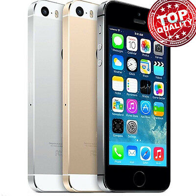 In Box Factory Unlocked APPLE iPhone 5S Grey Gold Silver Smartphone 16G 32G 64GB