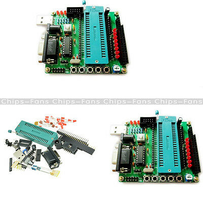 C51 AVR MCU Development Board DIY Learning Board Kit Parts Components STC89C52