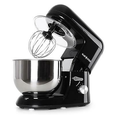 Modern Black Stainless Steel Food Processor Dough Mixer *free P&p Special Offer