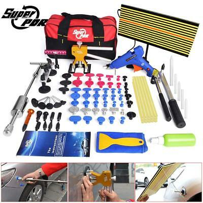 AU 95x Paintless Dent Removal PDR Tools Slide Hammer Dent Lifter Hail Repair Set