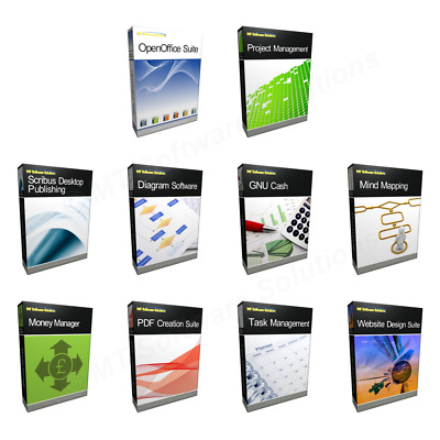 Bundle - Office Project Management Home & Business Edition For Microsoft Windows