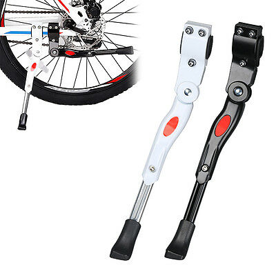 New MTB Bike Bicycle Kickstand Rear Parking Rack Hard Aluminium Side Support
