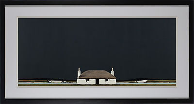 Black House By Ron Lawson Framed Fine Art Print, Wall Decor