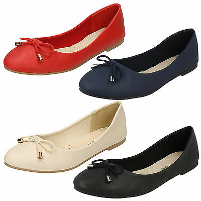 Wholesale Ladies Leather Ballerina Shoes 18 Pairs Sizes 3-8 F80275