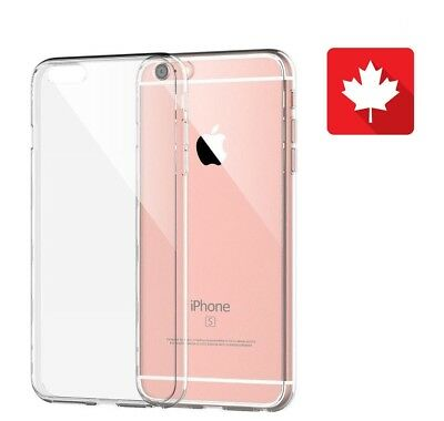 For iPhone 6s / iPhone 7 Case Ultra Slim Thin Clear Tpu Silicon Soft Back Cover